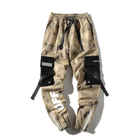 Camouflage Joggers/Cargo Pants