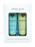 Aruba Aloe Shower Gel and Special Care Lotion Travel Duo