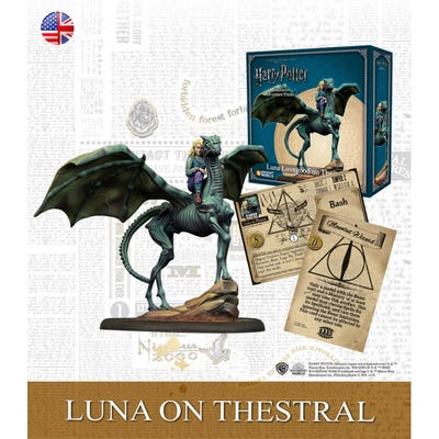 Harry Potter : Luna on Thestral