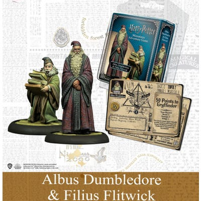Harry Potter : Dumbledore & Flitwick