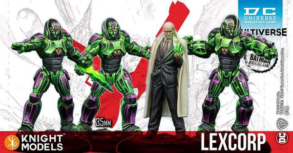 LEX LUTHOR & LEXCORP TROOPERS (MV) (Resin Edition)