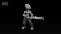 Syndicate Trooper with rotary machine gun