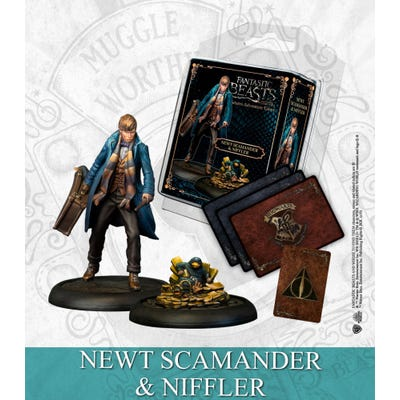 Harry Potter : Newt Scamander & Niffler