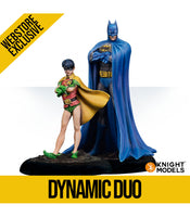 DYNAMIC DUO, BATMAN AND ROBIN (Resin Edition)