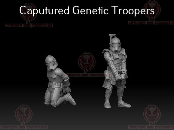 Captured Genetic Troopers