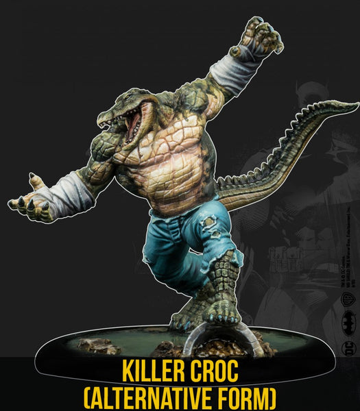KILLER CROC (Resin Multiverse)