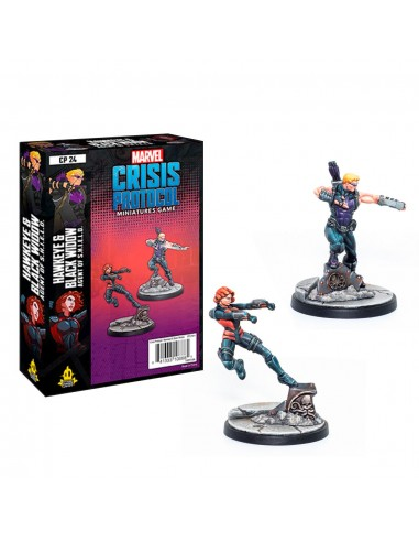 Marvel Hawkeye & Black Widow