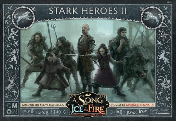 A SONG OF ICE & FIRE TABLETOP MINIATURES GAME - STARK HEROES #2 EXPANSION