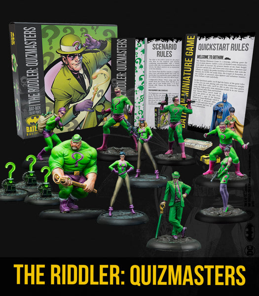 THE RIDDLER: QUIZMASTERS BAT BOX (Starter Box)