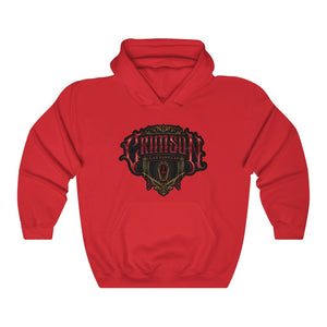 Unisex Crimson Logo  Heavy Blend™ Hooded Sweatshirt