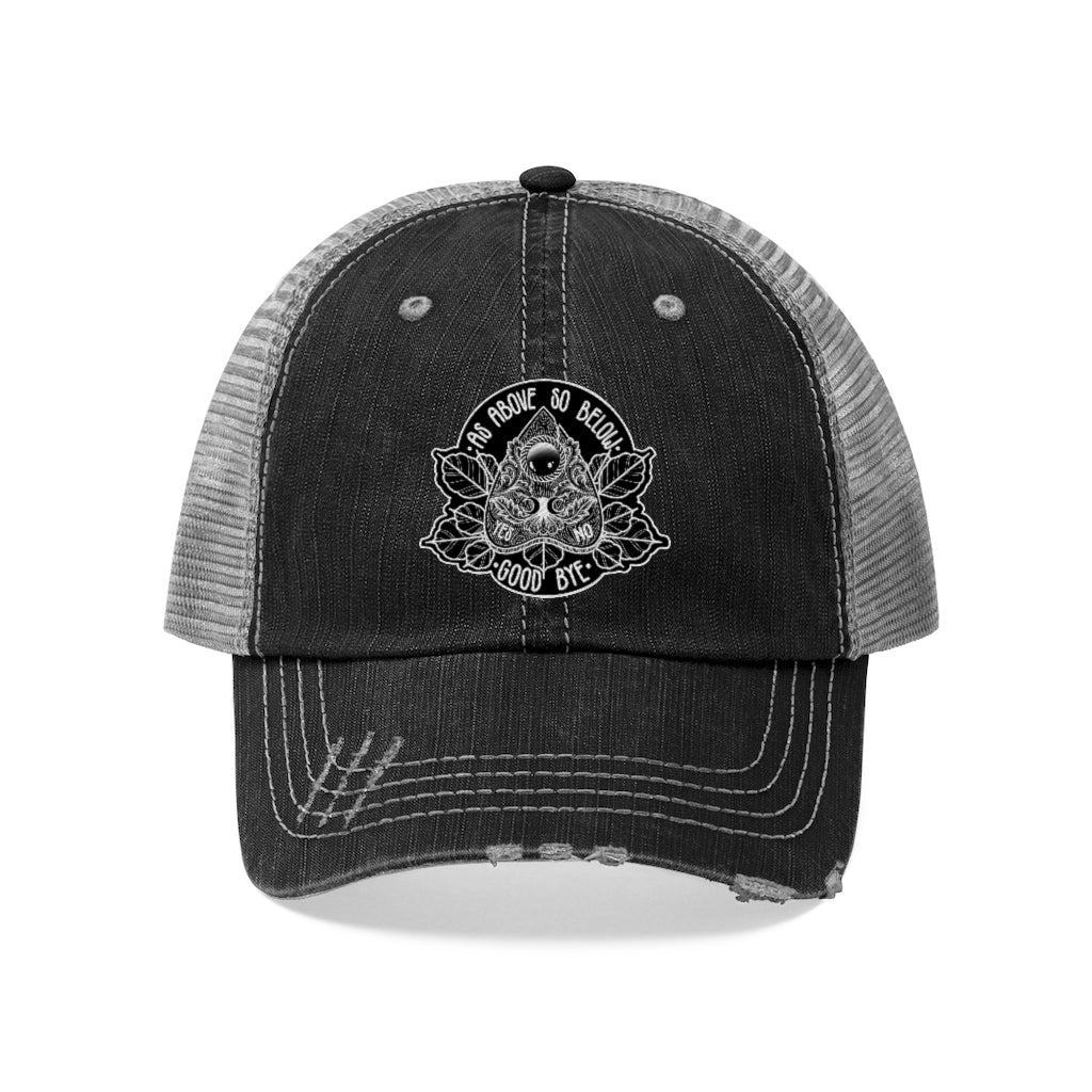 As Above So Below Trucker Hat