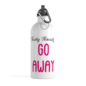 Eat a Dick, Go Away Stainless Steel Water Bottle
