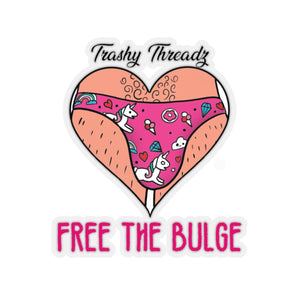 Free the Bulge Kiss-Cut Stickers