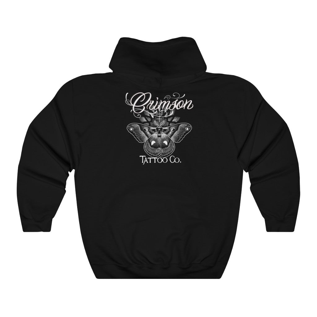 Unisex Crimson Tattoo Co. Pullover Hoodie