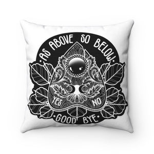 As Above So Below Throw Pillow