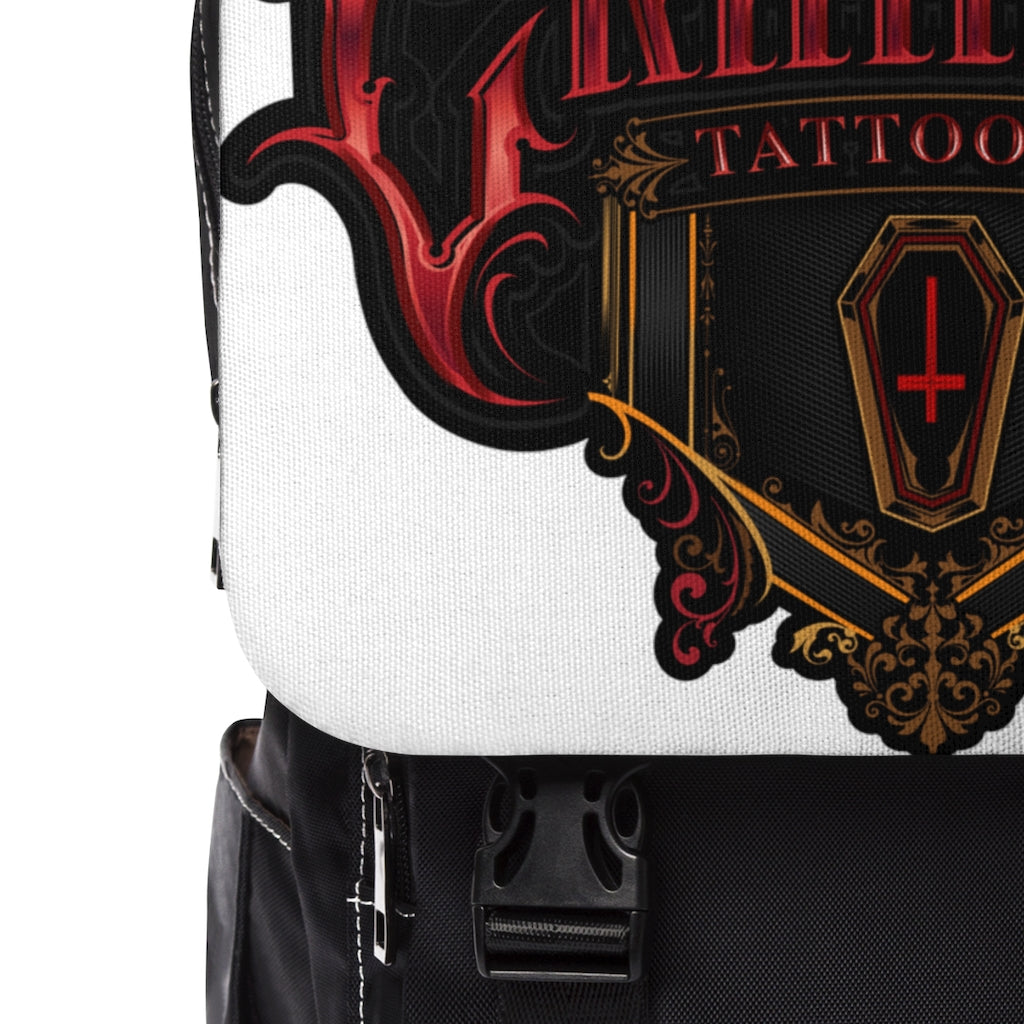 Crimson Tattoo Logo Shoulder Backpack