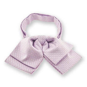 Pale Lavender Henry Grain Pattern Floppy Bow Tie