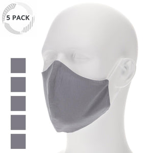 5-Pack Face Masks With Filter Pocket (Pick Your Pack)