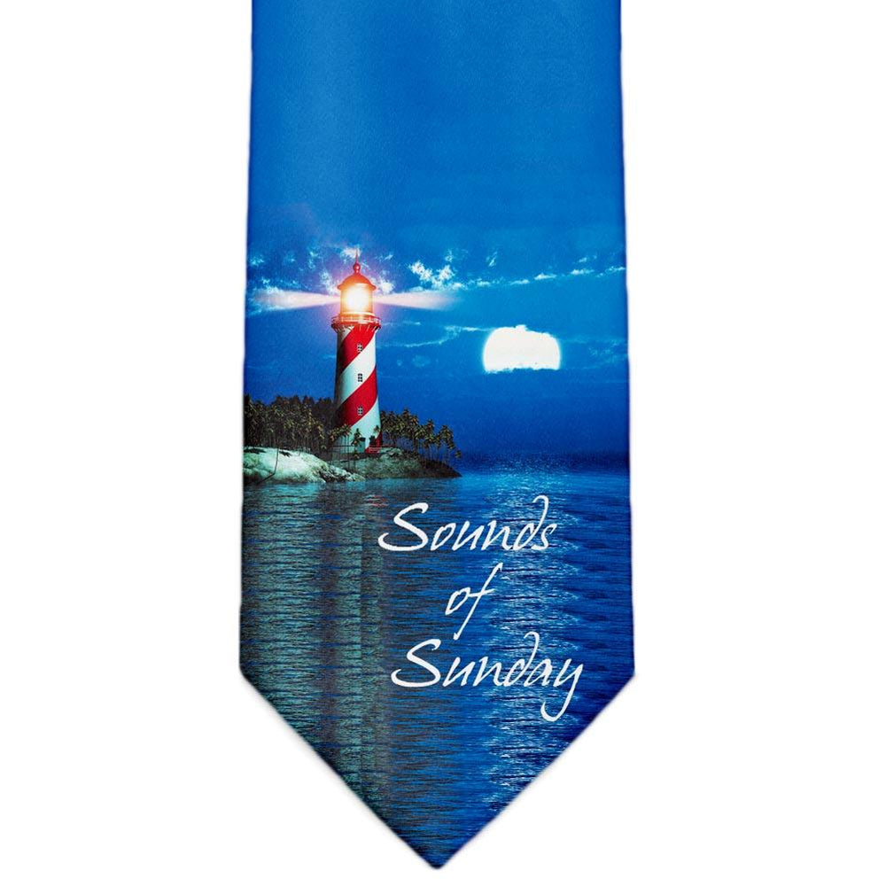 Sounds of Sunday Custom Made Tie