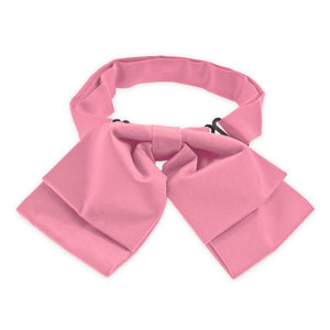 Bubblegum Pink Floppy Bow Tie