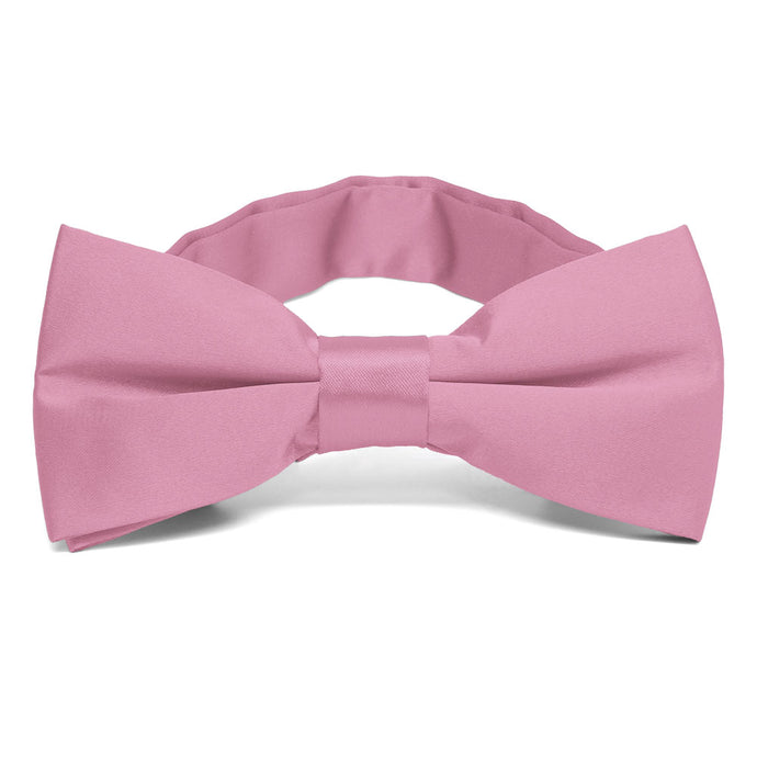 Antique Pink Band Collar Bow Tie