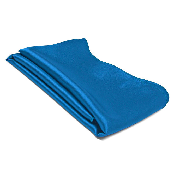 Azure Blue Solid Color Scarf