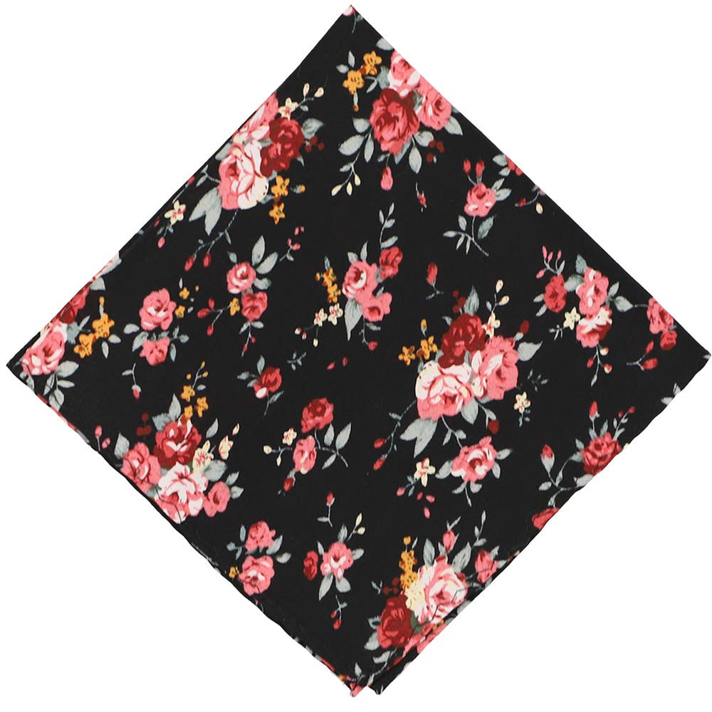 Arcata Floral Cotton Pocket Square