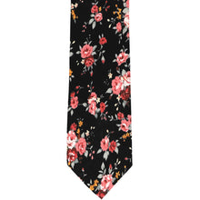 Load image into Gallery viewer, Arcata Floral Cotton Narrow Necktie