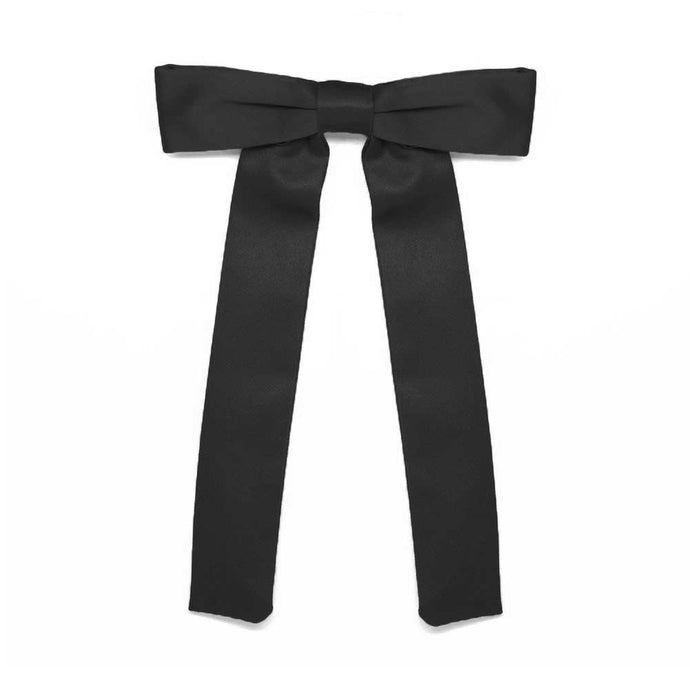 Black Clip-On Kentucky Colonel Tie