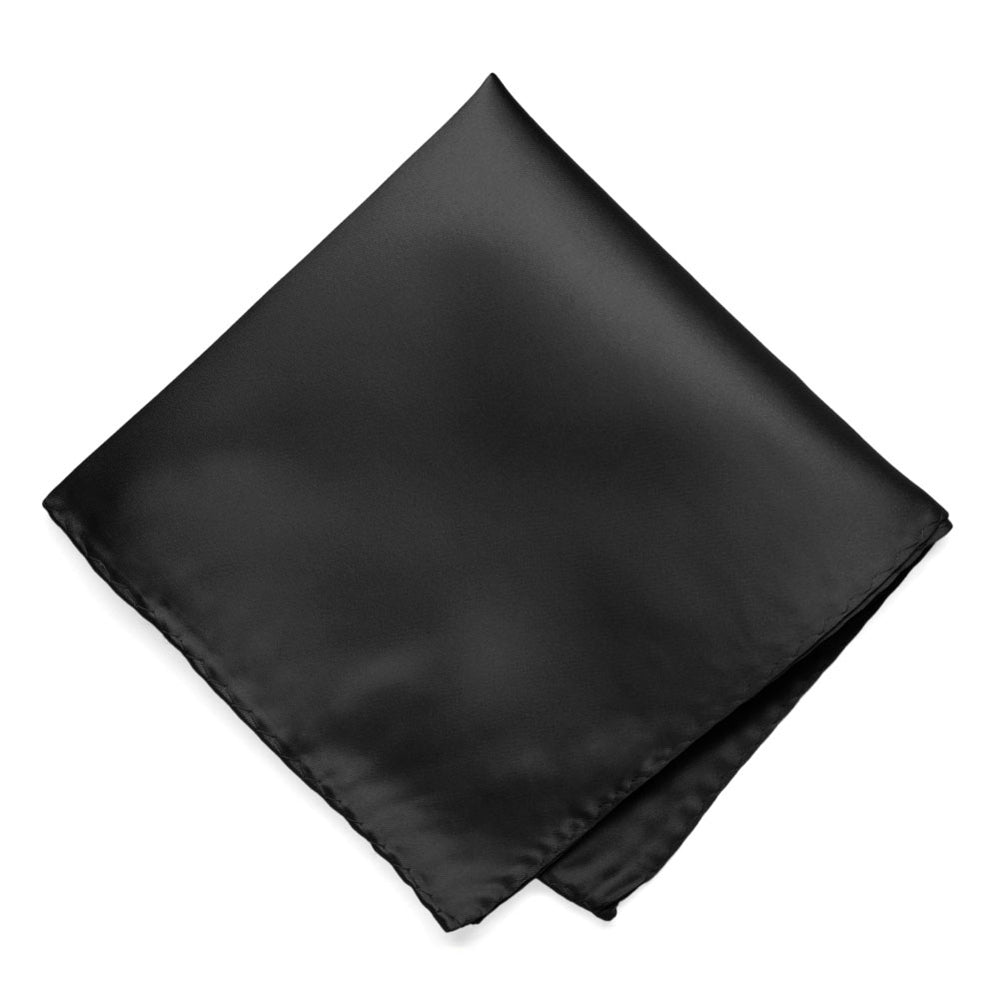 Black Premium Pocket Square