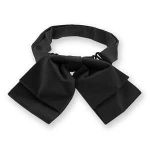 Black Floppy Bow Tie