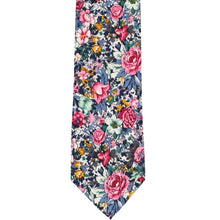 Load image into Gallery viewer, Brentwood Floral Cotton Narrow Necktie