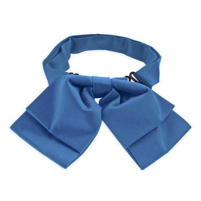 Blue Floppy Bow Tie