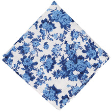 Load image into Gallery viewer, Pasadena Floral Cotton Pocket Square