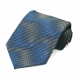 Blue Pattern Neckties, 6-Pack