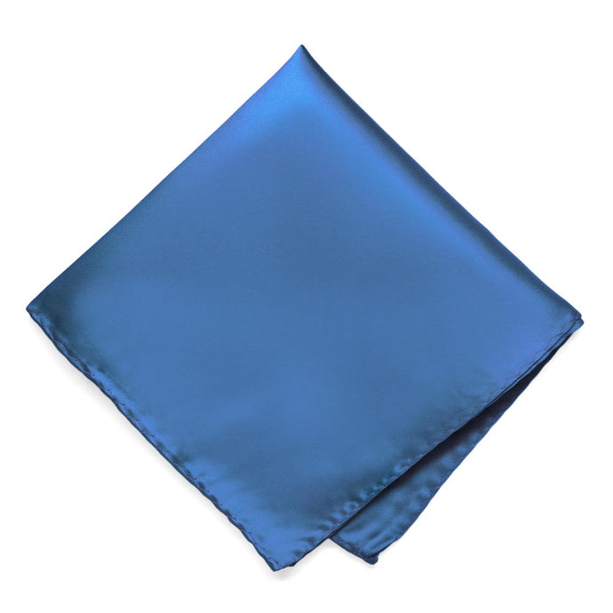 Blue Premium Pocket Square