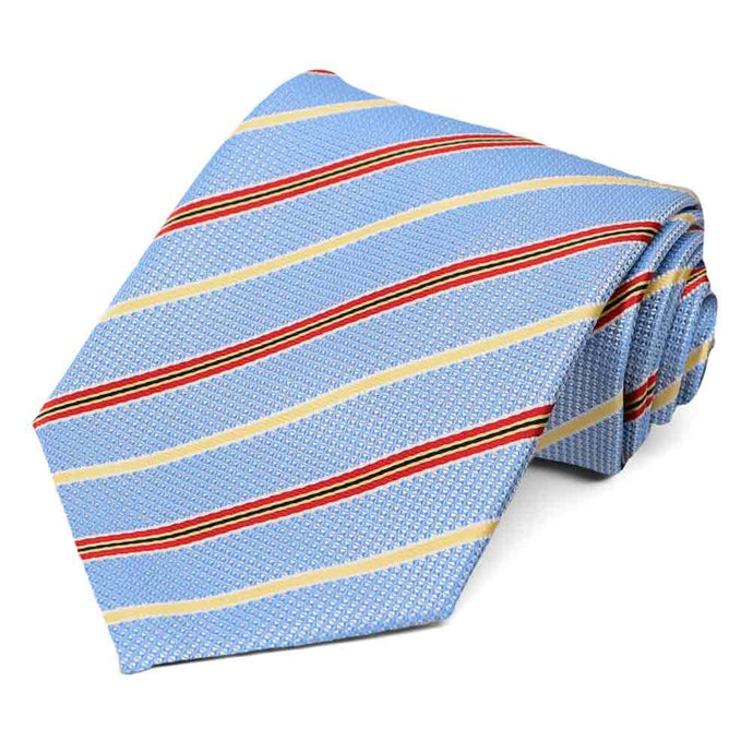 Blue Hartwell Striped Necktie