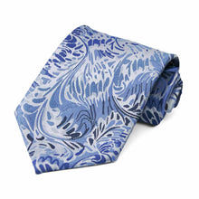 Load image into Gallery viewer, Blue Pattern Neckties, 6-Pack