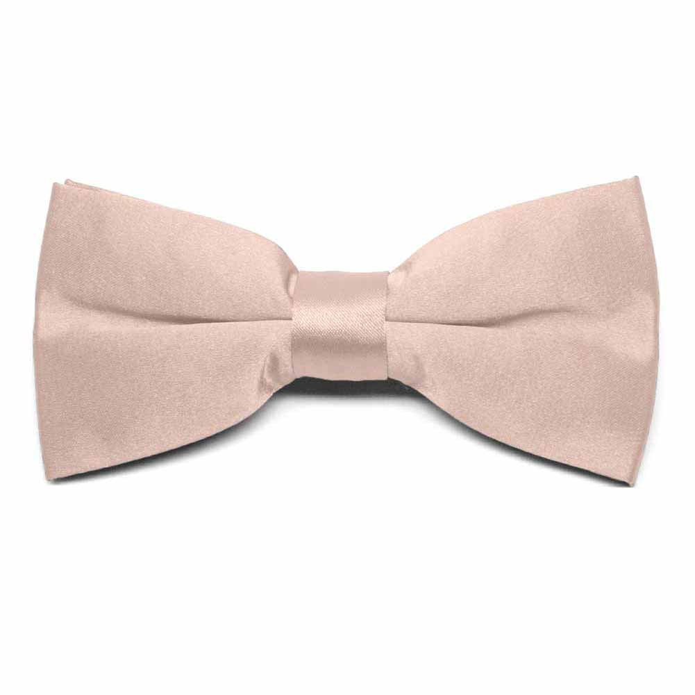 MENS BOW TIE PAISLEY AND STRIPE BROWN AND GOLD PRE-TIED BOW WITH CLIP
