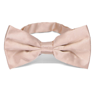 Blush Pink Large Band Collar Bow Tie