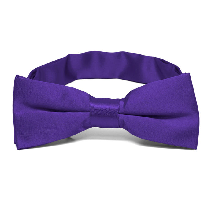 Boys' Amethyst Purple Bow Tie