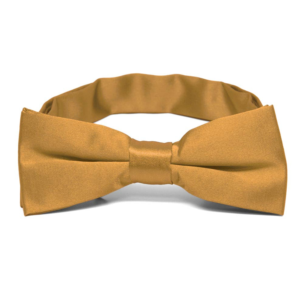 Boys' Antique Gold Bow Tie