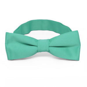 Boys' Aquamarine Bow Tie