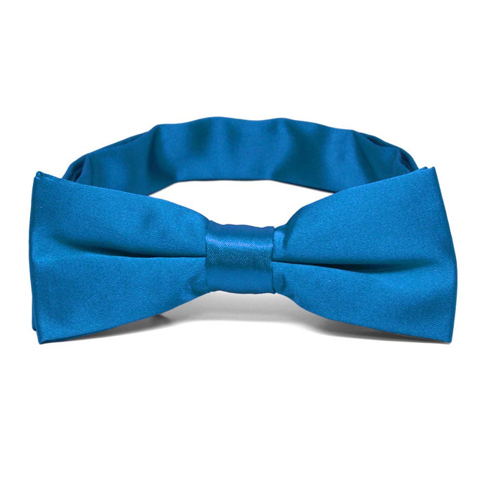 Boys' Azure Blue Bow Tie