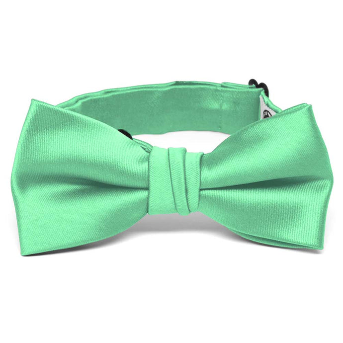 Boys' Bright Mint Premium Bow Tie