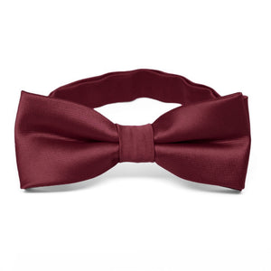 Boys' Burgundy Bow Tie