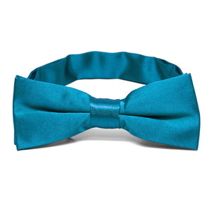 Boys' Caribbean Blue Bow Tie