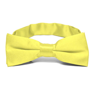 Boys' Daffodil Yellow Bow Tie