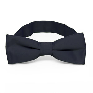 Boys' Dark Navy Blue Bow Tie