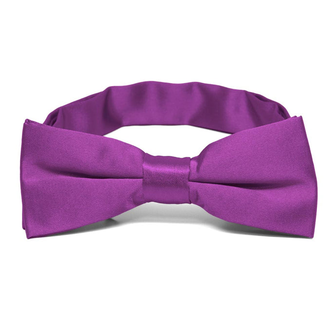 Boys' Dark Orchid Bow Tie